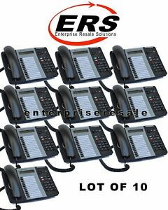 Mitel 5212 Ip Dual Mode 50004890 Sip Voip Cleaned C Grade lot Of 10