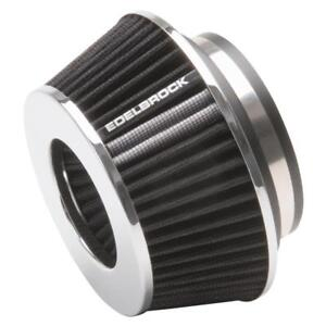 Edelbrock Air Filter 43610 Pro flo Conical Black 3 700