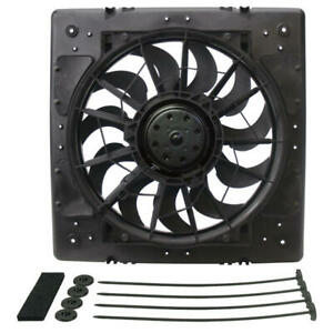Derale Cooling Fan Assembly 16926 High Output Rad Shrouded 13 Single Electric