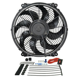 Derale Engine Cooling Fan Assembly 16516 Tornado 16 Single Electric