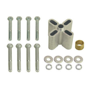Derale Engine Cooling Fan Spacer Kit 31520 Aluminum 2 000