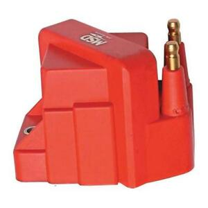 Msd Ignition Coil 8224 Blaster Oem Replacement 40 000 Volts Red Coil Pack