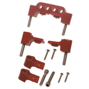 Taylor Spark Plug Wire Holder 42721 Red Nylon For Chevy 262 400 Sbc