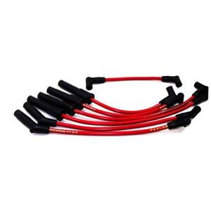 Taylor Spark Plug Wire Set 84249 Thundervolt 8 2mm Red For Jeep 6 Cylinder