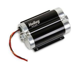 Holley Electric Fuel Pump 12 1800 Dominator 156 Gph 43psi For Gasoline Alcohol