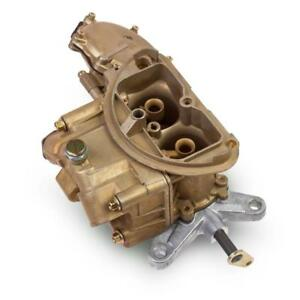 Holley Carburetor 0 4790 Oe Muscle Car 500 Cfm 2 Barrel Gold Dichromate