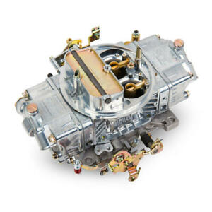 Holley Carburetor 0 4778s Double Pumper 700 Cfm 4bbl Mechanical Polished