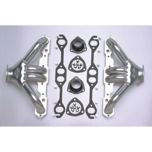 Hedman Exhaust Header 68506 Tight Tubes Shorty Htc Steel For Chevy Sbc