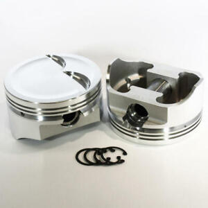 Dss Racing Piston Set 8741 4000 E 4 000 Forged Dish For Ford 347 Sbf stroker
