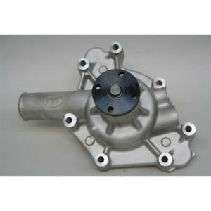 Prw Water Pump 1431800 Satin Aluminum Mechanical For 318 340 360 La Mopar
