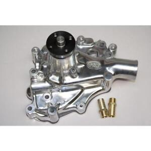 Prw Water Pump 1430210 Polished Aluminum Mechanical For Ford 302 Sbf