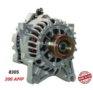200 Amp 8305 Alternator Ford Expedition Lincoln Navigator High Output Hd New