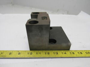 50mm Square Shank Cnc Turret Tool Holder Block