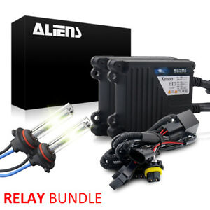 Aliens 35w Hid Kit Relay Bundle All Bulb Sizes And Colors Xenon Hi Low Light