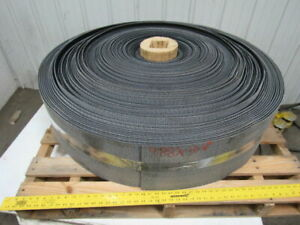 1 Ply Black Rough Top Incline Conveyor Belt 488ft X 10 1 8 0 275 Thick