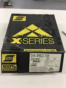 Esab X Series Dual Shield 710x m 045 33lb Mig Wire