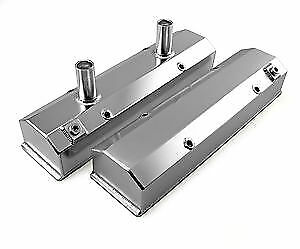 Bandit 7215a Fabricated Chevy 262 400 Sbc Tall Satin Aluminum Valve Covers