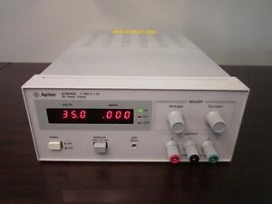 Agilent Hp E3616a Dc Portable Bench Power Supply 60w 35v 1 7a