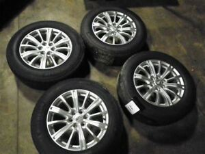 18x8 Machine Finished Opt Ptw Fits 17 Xt5 Set Of 4 Wheels W Tires 1007290