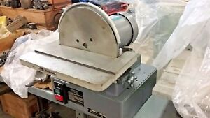 New Rockwell Industrial 12 Diameter Disc Sander 31 131 1hp 3 Phase 220 460v