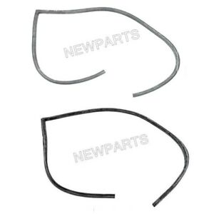 For Porsche 356a B C Sc Coupe Pair Set Of Left Right Door Seal On Body Oem