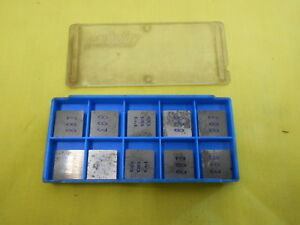 10 Carboloy Usa Seg 422 Indexable Carbide Inserts Lathe Mill Cutting Tool Bits