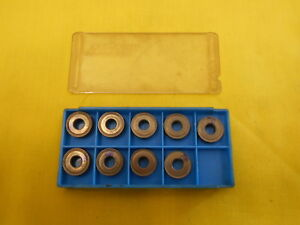 9 Carboloy Usa Rnmg 43 E Indexable Carbide Inserts Lathe Mill Cutting Tool Bits
