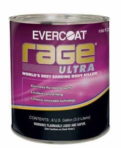 Fibreglass Evercoat 125 Rage Ultra Body Filler 3 Liter Can