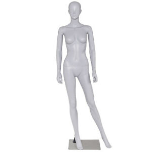 Female Mannequin Full Body Pp Realistic Display Dress Form Display W Base New