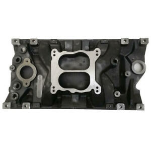 Enginequest Intake Manifold In350ma Marine Dual Plane Cast Iron For Gm Vortec