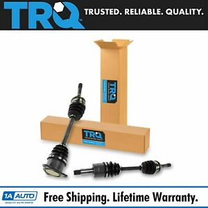 Trq New Complete Cv Axle Shaft Outer Front Pair For 99 04 Tracker Vitara Xl7