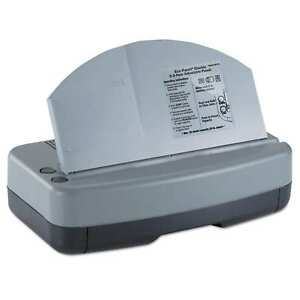 Officemate Electric 2 3 Hole Adjustable Eco punch 9 32 inch Hole Diameter