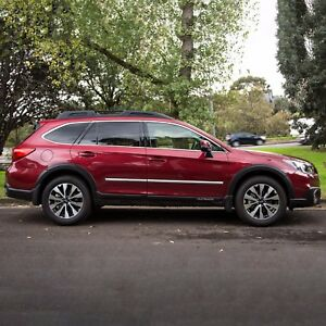 Chrome Body Side Moldings Trim Mouldings For Subaru Outback 2010 2018