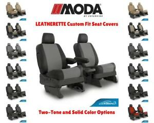 Leatherette Coverking Custom Fit Seat Covers For Porsche Cayenne