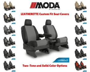 Leatherette Coverking Custom Fit Seat Covers For Gmc C k Truck