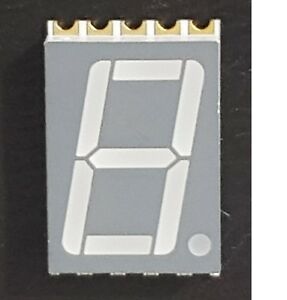 100 Pc s 0 56 1 Digit 7 segment Led Display Smd Surface Mount Common Anode