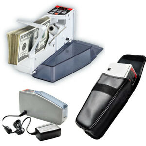 Mini Portable Handy Bill Cash Money Currency Counter Counting Machine V40
