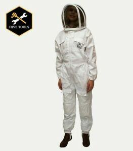 Harvest Lane Honey Bee Keepers Suit Includes Protective Hood Size Medium