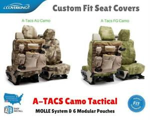 A tacs Camo Tactical Custom Fit Seat Covers For Gmc C k Truck