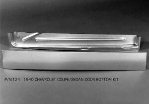 Chevrolet Chevy 2 Door Sedan And Coupe Door Panel Kit Right 1940 124r Ems