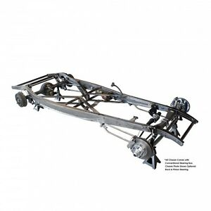 32 1932 Ford Auto Trans Frame Chassis Plain Steel Suspension United Pacific