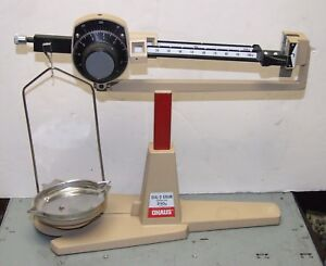Ohaus Dial o gram 310g Beam Balance Scale Used School Surplus Good Condition