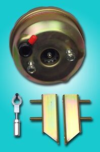 1964 1965 1966 Ford Mustang 7 Power Brake Booster For Dual Bowl Conversion