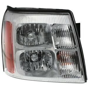 Headlight For 2003 2004 2005 2006 Cadillac Escalade Right Hid With Bulb