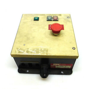 Pacific Power Control Kla 750 656936 Remote Control Box 24v 50 60hz