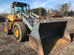 Volvo L90 Wheel Loader Quick Attach 3 25 Yard Bucket Stk 35362