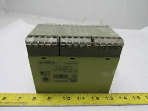 Pilz Pze5v 3 24vdc Safety Relay