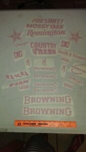 25 Browning marlin Remington 4x4 Country Decals Stickers All Pink