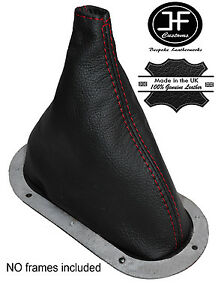 Red Stitch Leather Transfer Shift Boot Fits Dodge Ram Powerwagon Truck 80 93