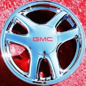 Set Of 4 New Chrome 17 Gmc Envoy Xl Oem Wheels Rims Chevrolet Trailblazer 5136